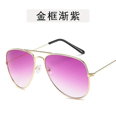 ZMGAW Gafas De Sol Mujer Gafas De Sol Marinas De Color De Moda ...