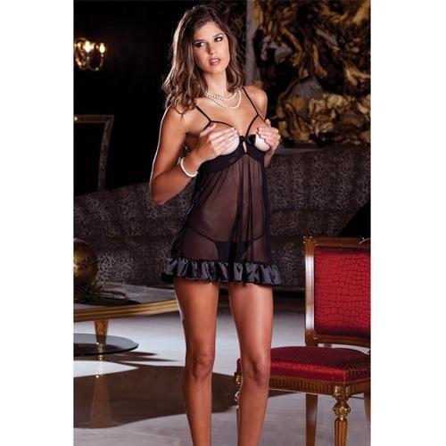 340e3de3b Amazon.com  Rene Rofe Women s 2pc Femme Fetale Babydoll G Se  Clothing