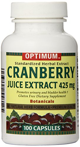 Tablet 425 Mg (Optimum Tablets, Cranberry Juice Extract, 425 Mg, 100 Count)
