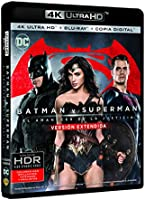 Batman V Superman: El Amanecer De La Justicia  Uhd+ Blu-Ray + Copia Digital [Blu-ray]