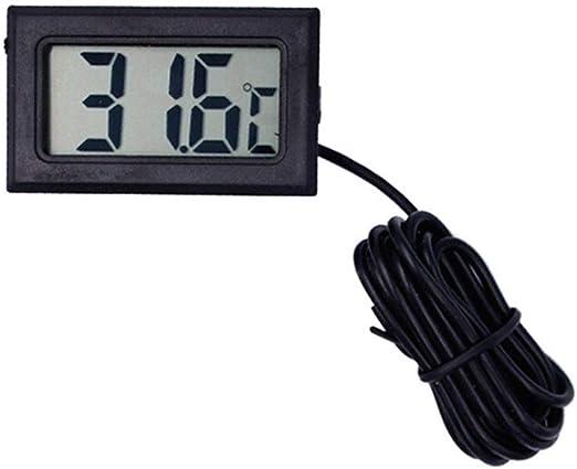 NO BRAND Termómetro Medidor Digital de Temperatura del congelador ...