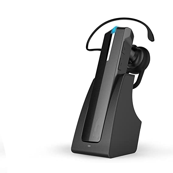 Auricular Bluetooth, AODA auricular inalámbrico bluetooth headset portátil con base de carga para iPhone/