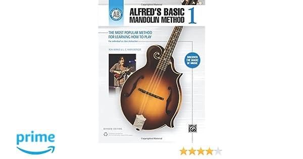 Alfreds Basic Mandolin Method 1 The Most Popular Method For