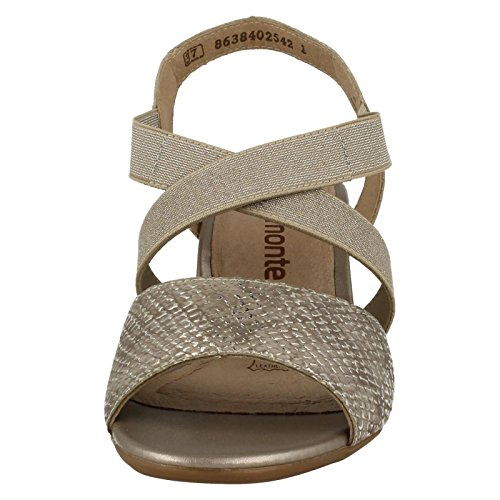 REMONTE Remonte Womens Sandal R9272 Silver 41