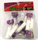 Rare! Disneys Kim Possible Party Blowouts Serpentines 8 Pack by Hallmark - Party Express