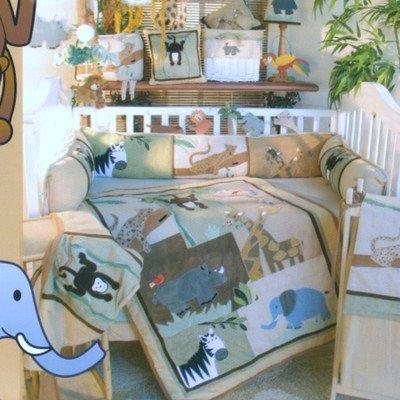On Safari 18 Piece Crib Nursery Collecti - Brandee Danielle Hamper Shopping Results