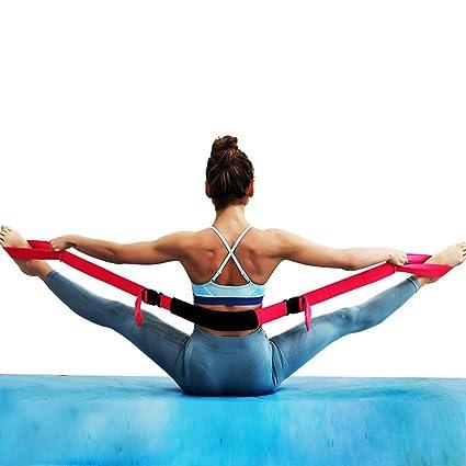 Faderr Cinturones de Yoga, Tela elástica, Longitud Ajustable ...