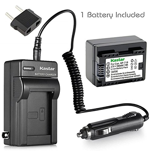 Kastar Battery 1-Pack and Char