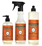 Mrs. Meyers Clean Day Pumpkin Kitchen Basics Set