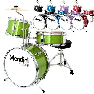 Mendini by Cecilio 13 Inch 3-Piece Junior Drum Set