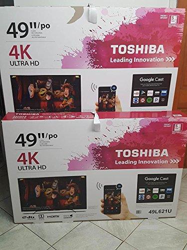 "Toshiba 49"" LED 2160p 4K Ultra HD TV"
