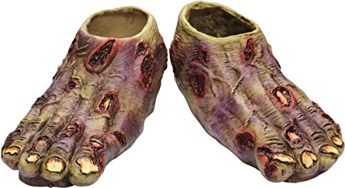 Undead Zombie Feet Shoe Covers (Undead Nightmare Costumes)