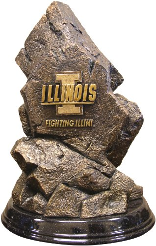 Wild Sports NCAA College Illinois Fighting Illini Desktop Statue