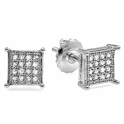 0.25 Ct Diamond Earrings - 8
