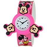 Cartoon Character Silicone Strap Round Quartz Kids 3D Spinner Rotating Case Waterproof Slap On Rubber Band Arabic Numerial Dial Children Toddler Wristwatches Time Teacher Boys Girls Designer Watches