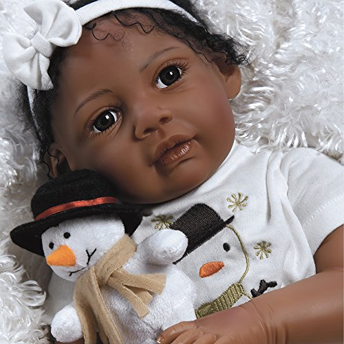 Paradise Galleries Reborn African American Black Baby Doll