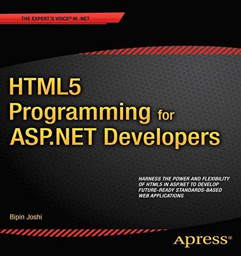 HTML5 Programming for ASP.NET Developers (Expert's Voice in .NET)