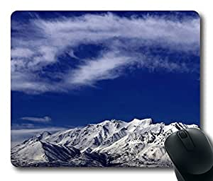 Mouse Pad - A View Of Mt Timpanogos Utah Durable Office Accessory Desktop Laptop MousePad and Gifts Gaming mouse pads by mcsharks