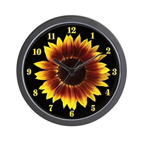 CafePress - Sunflower Wall Clock - Unique Decorative 10