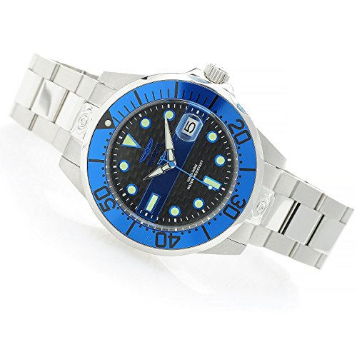 "Invicta 47mm Grand Diver ""Police & Fire"" Automatic Bracelet Watch"