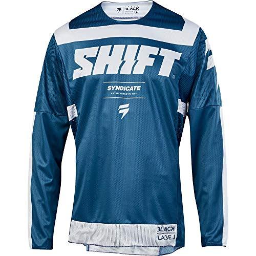 Shift 2019 Black Label Strike Jersey-Blue-L
