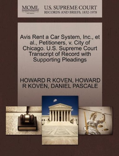 avis-rent-a-car-system-inc-et-al-petitioners-v-city-of-chicago-us-supreme-court-transcript-of-record
