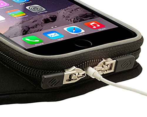 Sporteer Entropy E8 Modular Armband for iPhone 8 Plus, 7 Plus, Galaxy Note 8, Galaxy S8, S8 Plus, Pixel XL, LG G6, LG V30, Moto X4, G5S Plus, Nexus 6P, Xperia XZ, and Other Phones/Cases (M/L Straps) by Sporteer (Image #5)