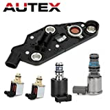 AUTEX 4T65E Automatic Transmission Master Shift EPC TCC & PWM Downshift Solenoid Manifold Pressure Switch 2003-UP