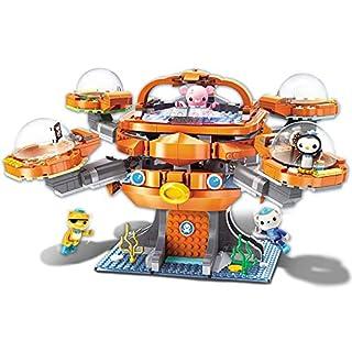 Enlighten Octonauts Octo-Pod Octopod Playset & Barnacles Kwazii Peso Inkling 698pcs Building Block Set-Without Original Box (3708)