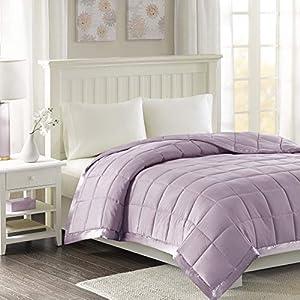 Madison Park Down Alternative Blanket Hypoallergenic 3M Scotchgard Stain Resistant Bedroom Bedding, Standardsized Full…