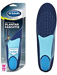 Dr. Scholl's PLANTAR FASCIITIS Pain Relief Orthotics // Clinically Proven Relief and Prevention of Plantar Fasciitis Pain for Women's 6-10,