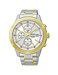 Seiko Chronograph Stainless Steel Men's Watch SKS432