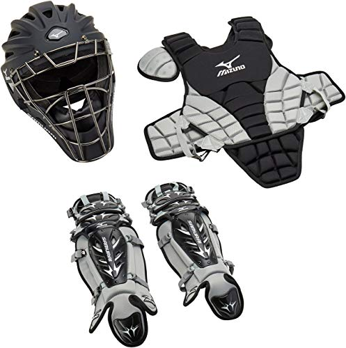 - Mizuno Youth Samurai Box Set (Black/Grey) (Renewed)