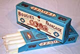 Bougies La Francaise Box of 8 Traditional Trouees Dripless Candles