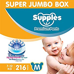 Supples Baby Diaper Pants M...