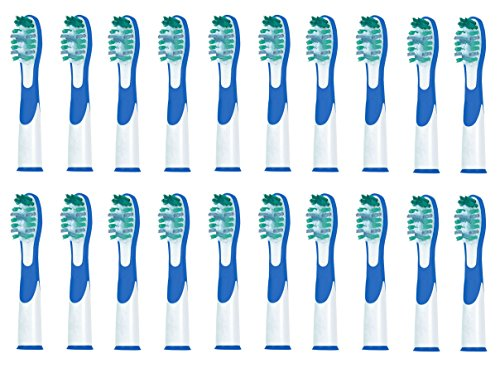 - Littlebird4 Gerenic Toothbrush Heads Compatible with Braun Oral B Sonic Complete & Vitality Sonic (20)