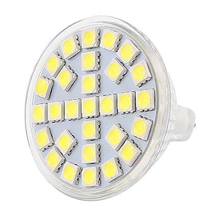eDealMax MR16 29LEDs SMD5050 CA 110V 5W de cristal ahorro de energía LED del bulbo de
