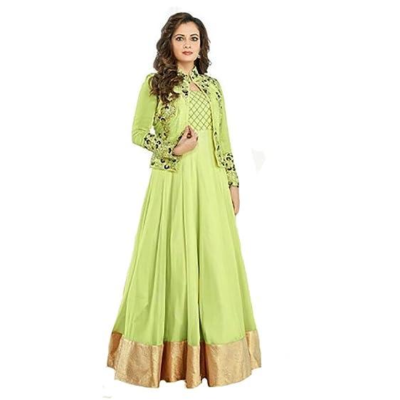 Amazon.com: Bridal Wedding Ethnic Bollywood Indo Western Anarkali ...