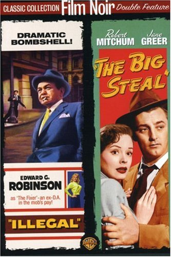 Film Noir Double Feature (Illegal / The Big Steal) by Warner Home Video