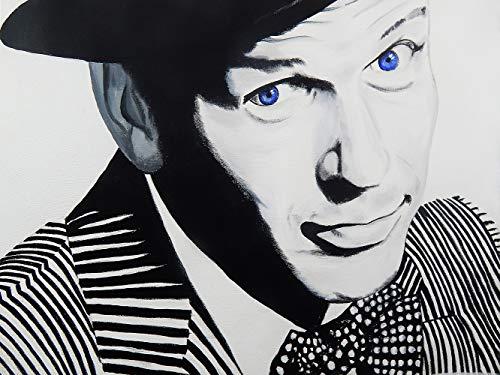 [해외]Buyartforless Frank Sinatra by Ed Capeau 24x18 Blue Eyes Art Painting Reproduction Canvas White / Buyartforless Frank Sinatra by Ed Capeau 24x18 Blue Eyes Art Painting Reproduction Canvas White