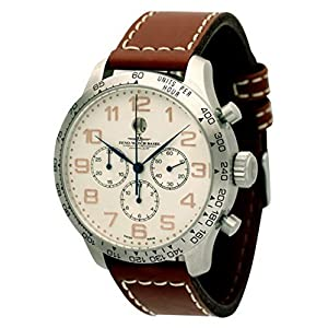 Zeno-Watch Mens Watch - OS Tachymeter Retro Chronograph 2025 - 8559THD12T-f2