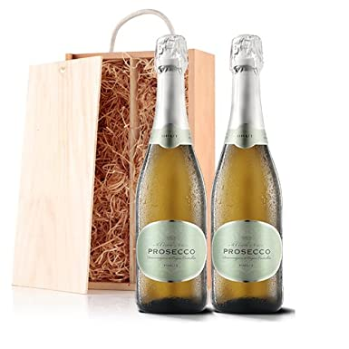 Sendagift by Virgin Wines Prosecco Wine Gift In Wooden Gift Box ...