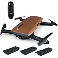 Goolsky JJR/C H47 RC Drone with Camera 720P HD Live Video WiFi FPV 2.4GHz 4CH 6-Axis Gyro RC Selfie Quadcopter with Altitude Hold,G-sensor Control and Headless Mode Include 3 Batteries