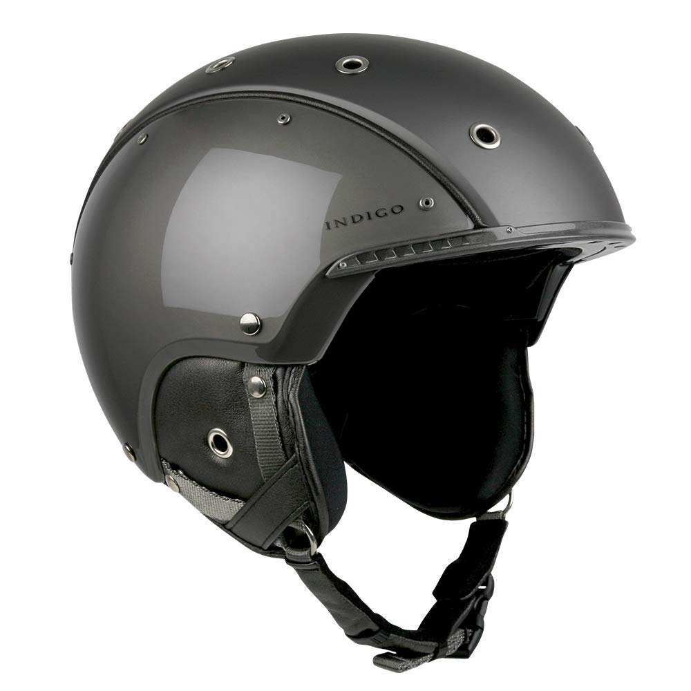 Indigo Helmet Element | Titan | Ski & Snowboard Helm | Hochwertige Qualität