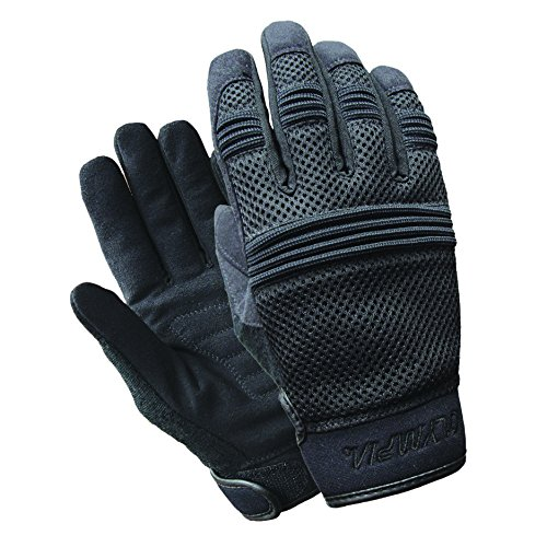 Olympia Sports Men's Air Force Gel Gloves (Black, XX-Large)