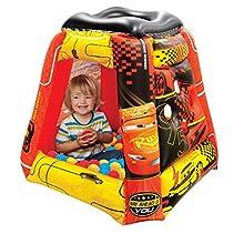 "Cars 3 Ball Pit, 1 Inflatable & 20 Sof-Flex Balls, Red, 37""W x 37""D x 34""H"