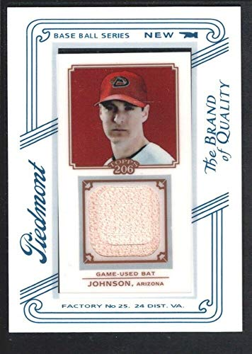 - BIGBOYD SPORTS CARDS Kelly Johnson 2010 Topps T-206 Piedmont #TRKJ Game BAT Arizona Diamondbacks SP