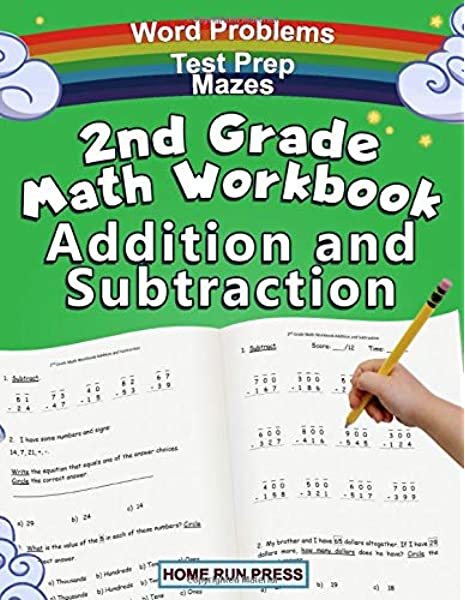 2nd Grade Math Workbook Addition And Subtraction: Second Grade Workbook,  Timed Tests, Ages 4 To 8 Years: Home Run Press, LLC: 9781952368059:  Amazon.com: Books