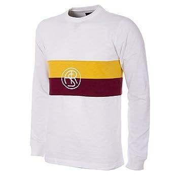 AS Roma 1944-1945 Camisa de Fútbol Retro (XXL)