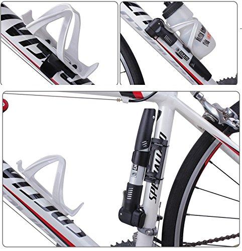 BlueSunshine Mini Bike Pump with Multi Function Bike Repair Tools ...